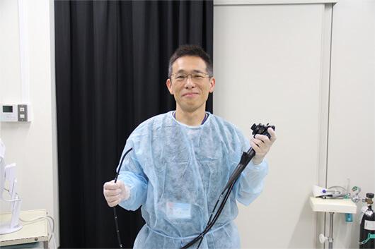 経験豊富な消化器内視鏡の専門医である印牧先生